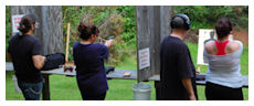 Concealed Carry + NRA basic pistol combined course @ concealedcarrytrainingnc.com